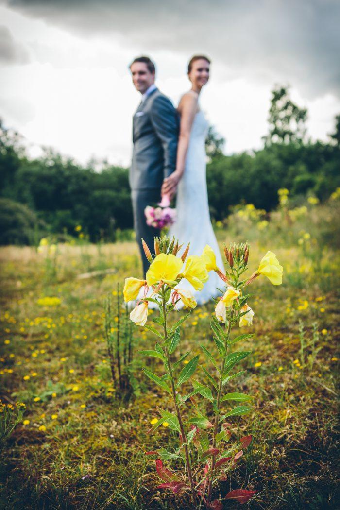 huwelijk tuinfeest duinen Oostduinkerke bohemian ceremonie