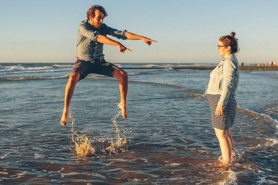fotoshoot aan zee Oostende belgische kust fotograaf