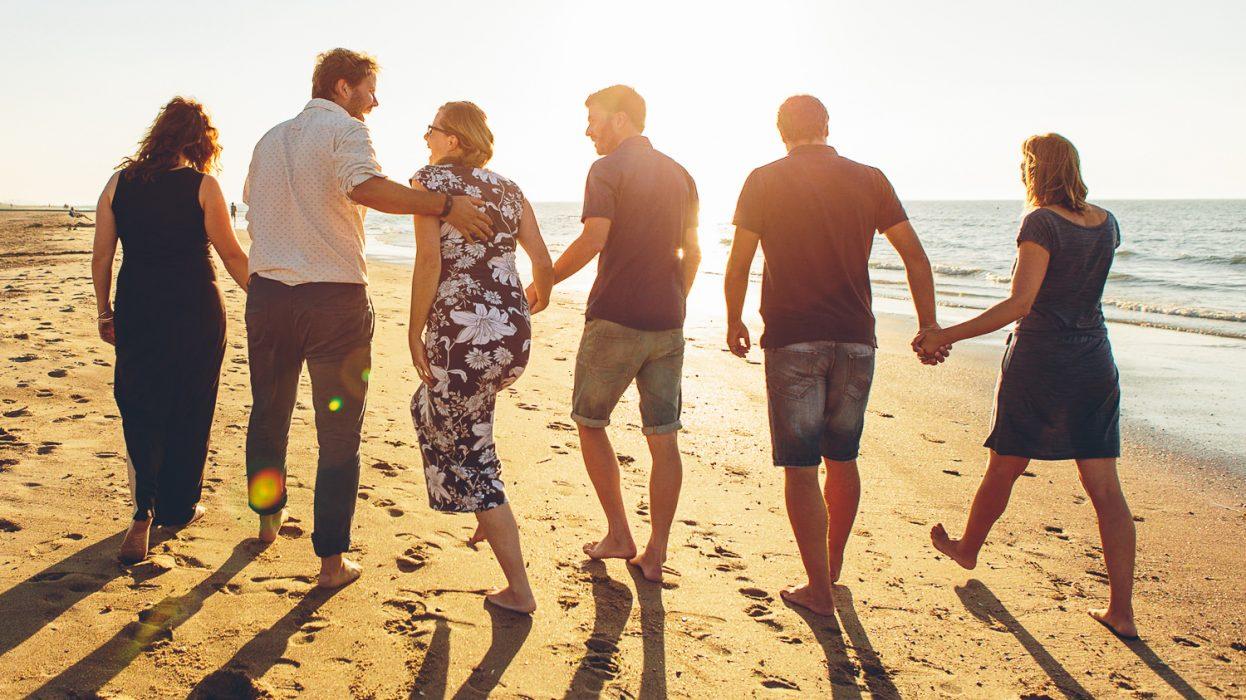 fotoshoot aan zee Oostende belgische kust fotograaf vrienden
