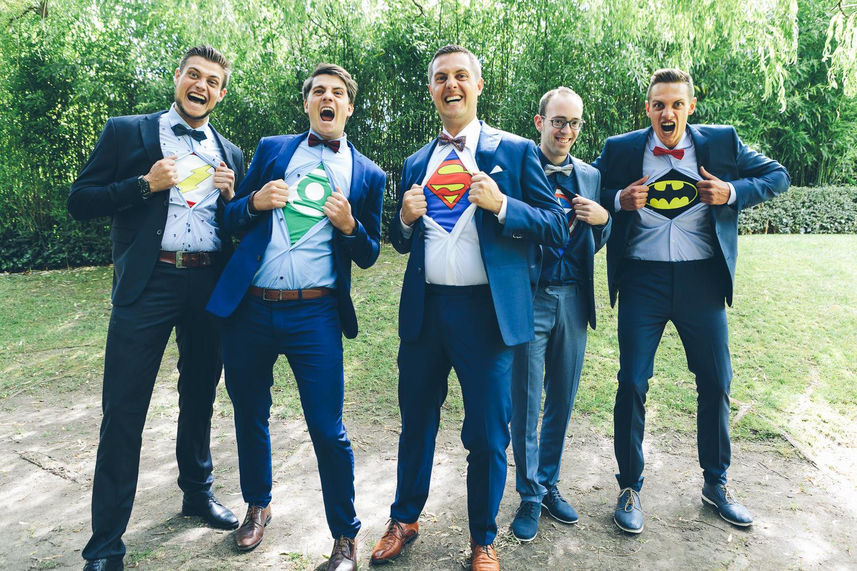 huwelijk superhero wedding