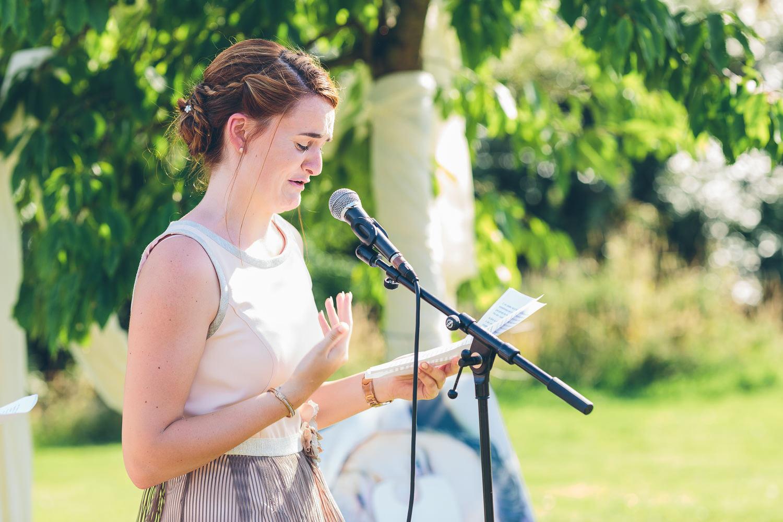 huwelijk speech