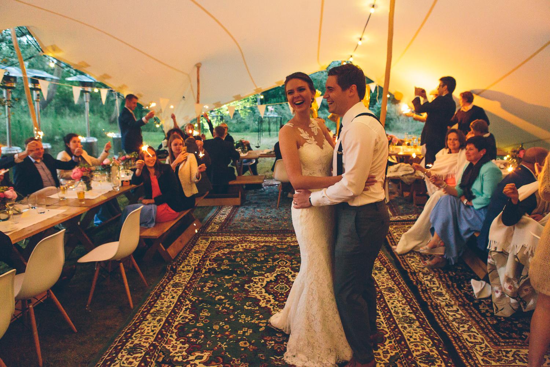huwelijk behomian tent duinen