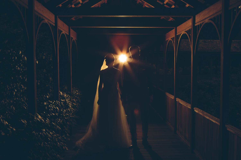 huwelijk backlight butte aux bois